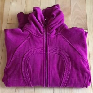Lululemon pink zip up